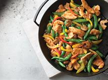 Sesame Ginger Chicken Stir Fry