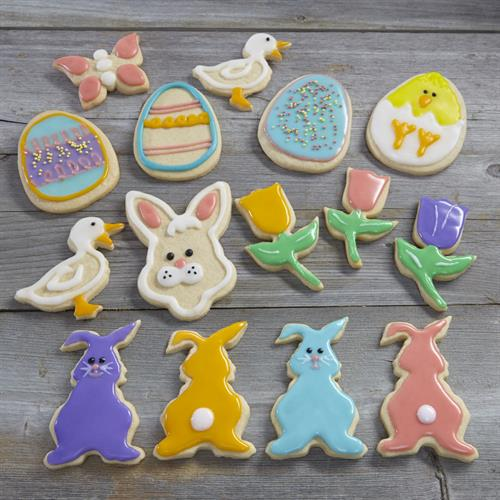 Colourful Easter Cookies Square new