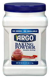 BAKING POWDER, 60OZ