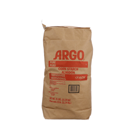 CORN STARCH, FOODSERVICE, 25LB